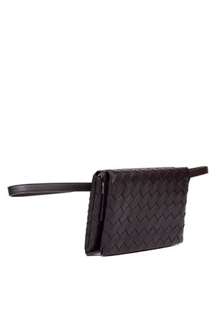BLACK LEATHER BRAIDED BELT BAG FW 2019 BOTTEGA VENETA | 34 | 592719VO0BM1086