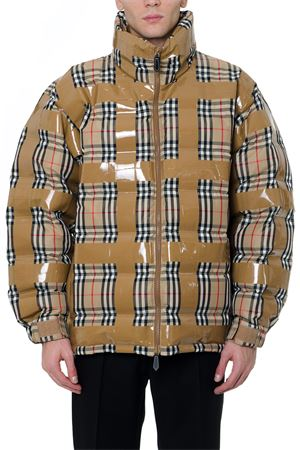 DOWN JACKET WITH CHECK PRINT FW 2019 BURBERRY | 27 | 45592031A7028