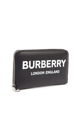 BLACK LEATHER LOGO WALLET FW 2019 BURBERRY | 34 | 80092111A1189