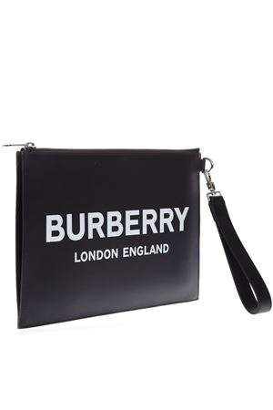 BLACK SMOOTH LEATHER CLUTCH FW 2019 BURBERRY | 2 | 80092141A1189