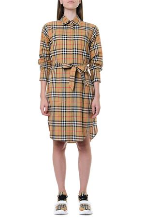 CHEMISIER IN COTONE CON STAMPA CHECK AI 2019 BURBERRY | 32 | 80139461A2219