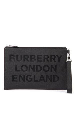CLUTCH NERA IN PELLE STAMPATA AI 2019 BURBERRY | 2 | 80146841A1189