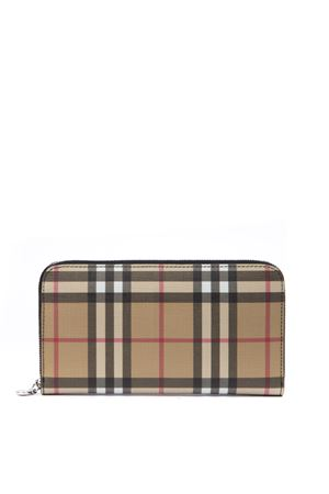 VINTAGE CHECK AND LEATHER WALLET FW 2019 BURBERRY | 2 | 80151181A1189