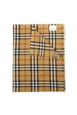 WOOL & SILK VINTAGE CHECK SCARF FW 2019 BURBERRY | 20 | 80155051A2442