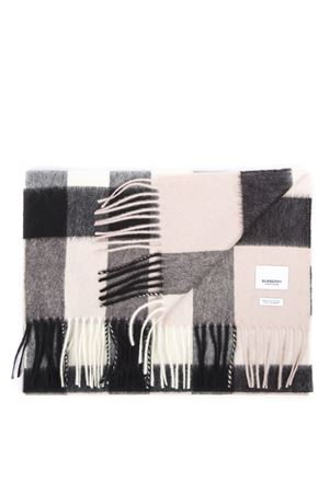 LIGHT PINK CASHMERE CHECK PATTERN SCARF FW 2019 BURBERRY | 20 | 80155491A1424