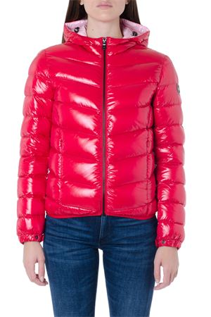 RED LACQUERED-EFFECT DOWN JACKET FW 2019 COLMAR ORIGINALS | 27 | 22475TW193