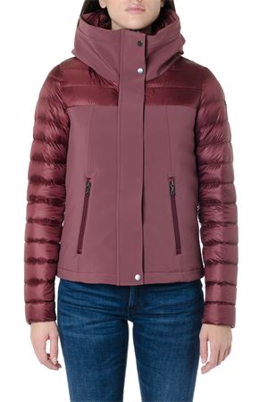 BURGUNDY COLOR NYLON DOWN JACKET FW 2019 COLMAR ORIGINALS | 27 | 22722QL417