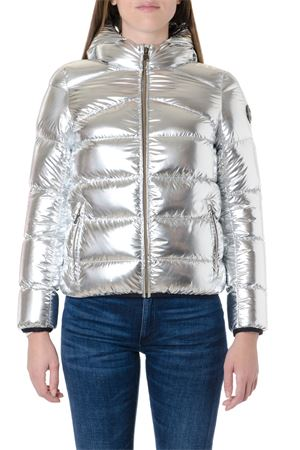 SILVER METALLIC NYLON DOWN JACKET FW 2019 COLMAR ORIGINALS | 27 | 2275U6TN434