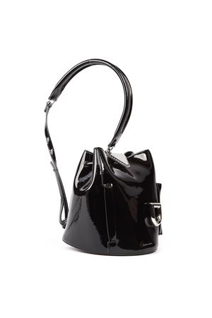 BLACK PATENT LEATHER JOSH BAG FW 2019 DANSE LENTE | 2 | P19191530JOSHBLACK