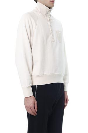 WHITE JERSEY COTTON SWEATSHIRT FW 2019 GR UNIFORMA X DIESEL RED TAG | 19 | GR02T30200S54JBIANCO