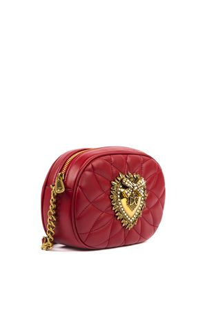 DEVOTION RED QUILTED LEATHER BAG FW 2019 DOLCE & GABBANA | 2 | BB6704AV96787124