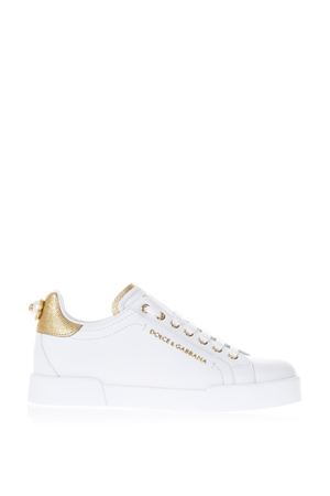 LEATHER PORTOFINO SNEAKERS FW 2019 DOLCE & GABBANA | 55 | CK0159AN2988B996
