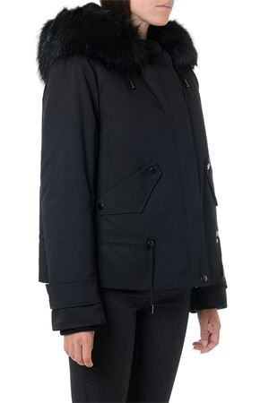 BLACK TECHNICAL PARKA JACKET FW 2019 DONDUP | 27 | DJ264PX0072XXX1633