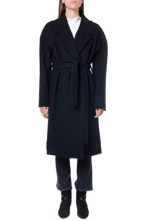 WRAPED DESIGN BLACK WOOL COAT FW 2019 DONDUP | 31 | DJ281PX0067XXX1999