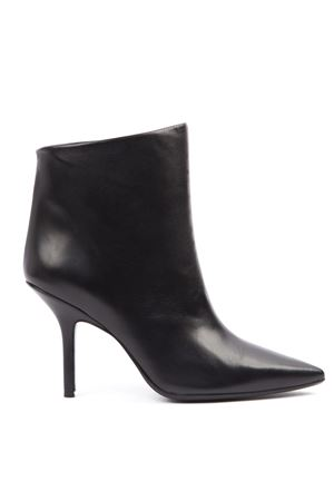 BLACK LEATHER ANKLE BOOT FW 2019 DONDUP | 52 | WS175Y00682XXX1999