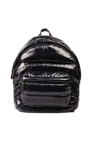 GLOSSY NYLON QUILTED BACKPACK FW 2019 DSQUARED2 | 183 | BPM0016117023802118