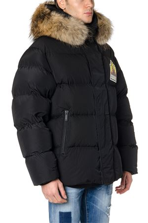BLACK FUR TRIMMED HOOD DOWN JACKET FW 2019 DSQUARED2 | 27 | S71AN0099S52344900