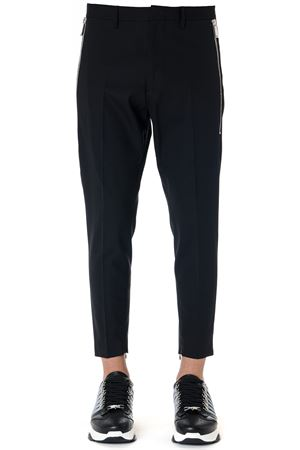 BLACK WOOL TAILORED TROUSERS FW 2019 DSQUARED2 | 8 | S71KB0221S49807900
