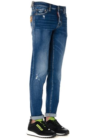 STONE WASHED DENIM COTTON JEANS FW 2019 DSQUARED2 | 4 | S71LB0642S30663470