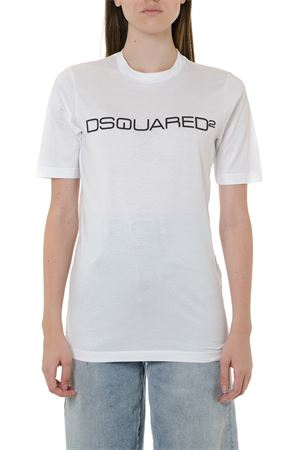T-SHIRT DSQ2 BIANCA IN COTONE AI 2019 DSQUARED2 | 15 | S72GD0176S22427100