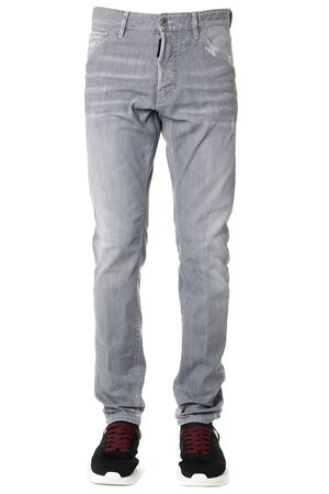 JEANS COOL GUY GRIGI IN COTONE AI 2019 DSQUARED2 | 4 | S74LB0580S30260852