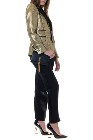 METAL GOLD SINGLE BREAST JACKET FW 2019 DSQUARED2 | 14 | S75BN0642S52059906