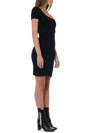 BLACK SHORT VISCOSE DRESS FW 2019 DSQUARED2 | 32 | S75CV0043S23138900