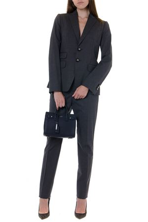 BLACK STRETCH WOOL SUIT FW 2019 DSQUARED2 | 32 | S75FT0164S40320860