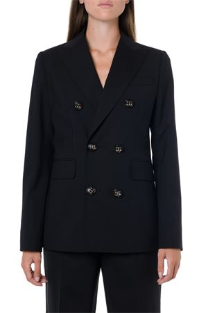 BLACK TWO PIECES WOOL SUIT FW 2019 DSQUARED2 | 21 | S75FT0168S40320900