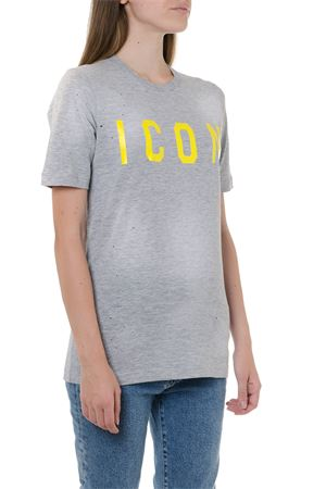 ICON GREY COTTON T-SHIRT FW 2019 DSQUARED2 | 15 | S75GD0041S22146967