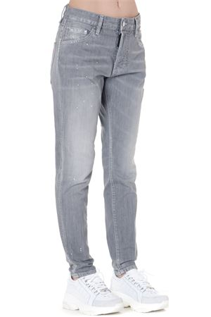 STONE WASHED LIGHT GREY COTTON JEANS FW 2019 DSQUARED2 | 4 | S75LB0176S30260852