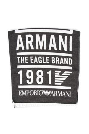 EMPORIO ARMANI BLACK FABRIC SCARF FW 2019 EMPORIO ARMANI | 20 | 6250529A35200020