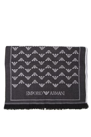 TWO COLORS WOOL ICONIC SCARF FW 2019 EMPORIO ARMANI | 20 | 6350039A30000020