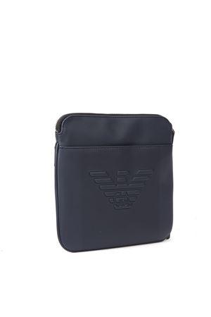 BLUE EMBOSSED LOGO SHOULDER BAG FW 2019 EMPORIO ARMANI | 2 | Y4M177YFE6J80033