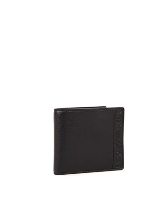 BLACK FAUX LEATHER WALLET FW 2019 EMPORIO ARMANI | 34 | Y4R168YSL5J81072