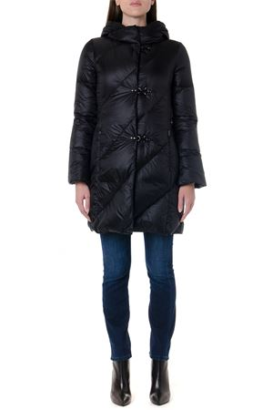 BLACK QUILTED HOODIE JACKET FW 2019 FAY | 27 | NAW33394120GOSB999