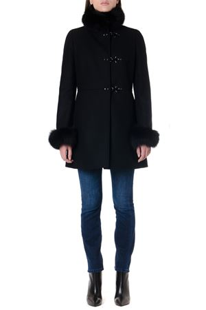 FUR TRIMMED WOOL-CASHMERE BLEND COAT FW 2019 FAY | 31 | NAW5039400URCPB999