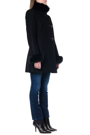 FUR TRIMMED WOOL-CASHMERE BLEND COAT FW 2019 FAY   31   NAW5039400URCPB999