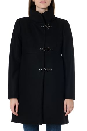BLACK CLASSIC WOOL BLEND COAT FW 2019 FAY | 31 | NAW5039Y050RCPB999