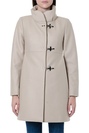 TAUPE CLASSIC WOOL BLEND COAT FW 2019 FAY | 31 | NAW5039Y050RCPC002