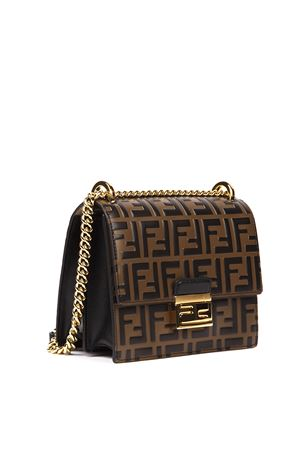 BORSA KAN YOU MARRONE IN PELLE AI 2019 FENDI | 2 | 8M0417A659F13VK
