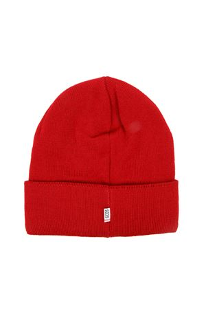 RED WOOL HAT WITH LOGO FW 2019 GCDS | 5 | CC94M0155221RED