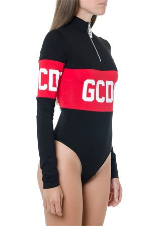 BLACK AND RED COTTON BODY WITH LOGO FW 2019 GCDS | 110000124 | CC94W0202011BLACK