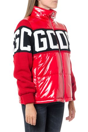 RED LOGO DOWN JACKET FW 2019 GCDS | 27 | CC94W0402001RED