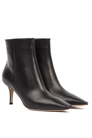 BLACK LEATHER STILETTO ANKLE BOOTS FW 2019 GIANVITO ROSSI | 52 | G0560670RICBLACK