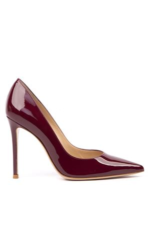 BORDEAUX PATENT LEATHER PUMPS FW 2019 GIANVITO ROSSI | 68 | G2847015RICVERSYRA