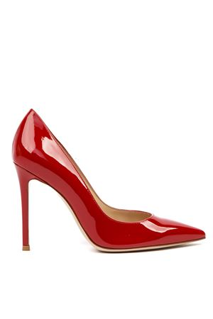 RED PATENT LEATHER PUMPS FW 2019 GIANVITO ROSSI | 68 | G2847015RICVERTABS