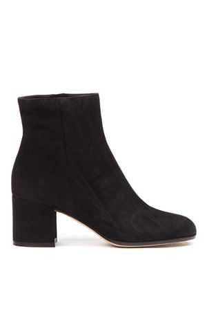 BLACK SUEDE ANKLE BOOTS FW 2019 GIANVITO ROSSI | 52 | G7051060RICBLACK