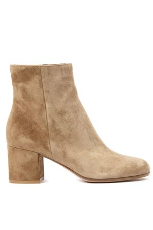 CAMEL SUEDE ANKLE BOOTS FW 2019 GIANVITO ROSSI | 52 | G7051060RICCAMEL