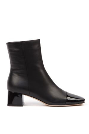 BLACK LEATHER ANKLE BOOTS FW 2019 GIANVITO ROSSI | 52 | G7363945RICVERNICE